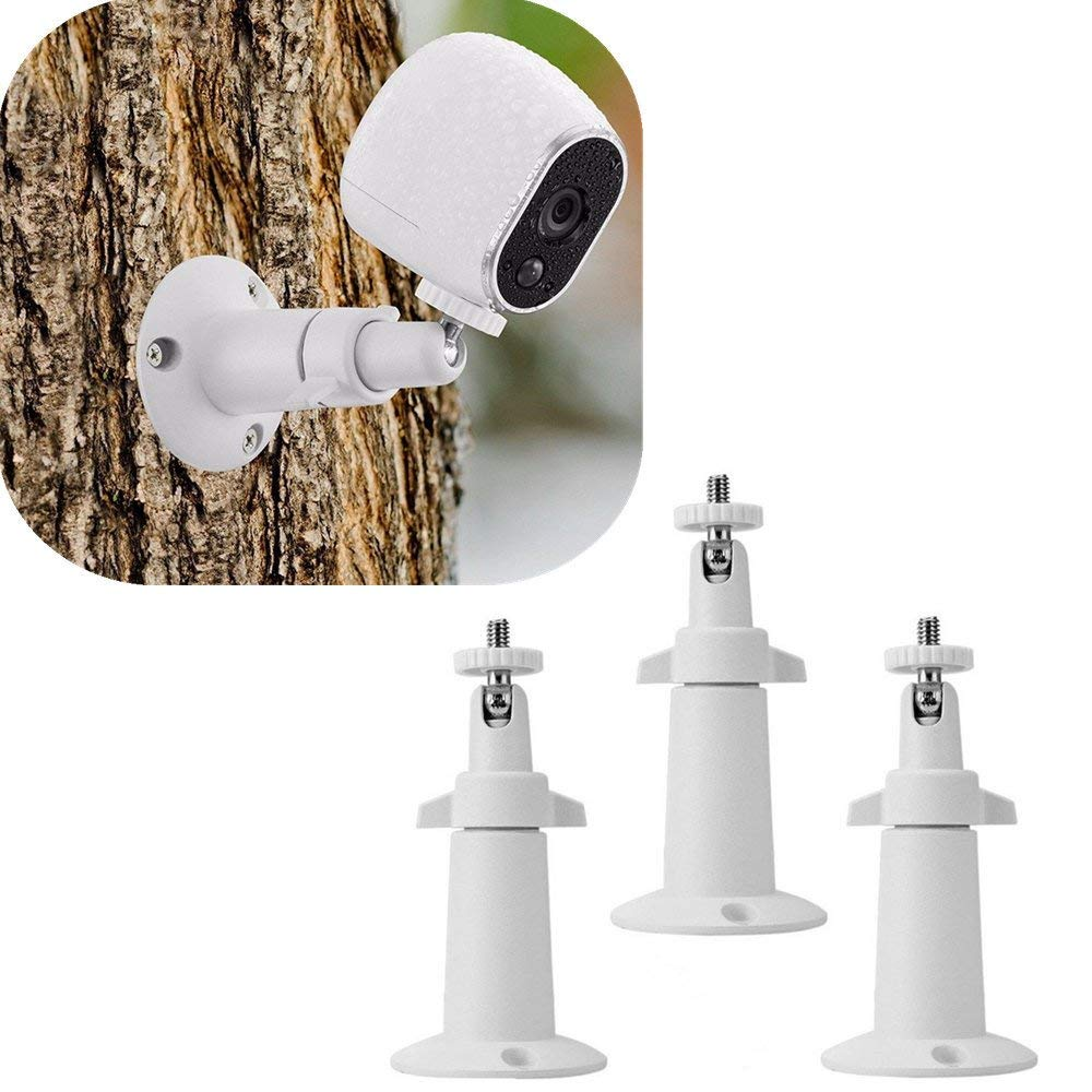 3 Pcs Security Wall Mount for Arlo or Pro Camera Adjustable Indoor Outdoor Camera by Dressffe
