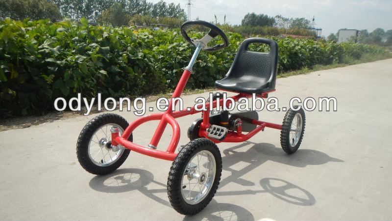 kinder pedal go kart 4 rad fahrrad super gehen kart. Black Bedroom Furniture Sets. Home Design Ideas