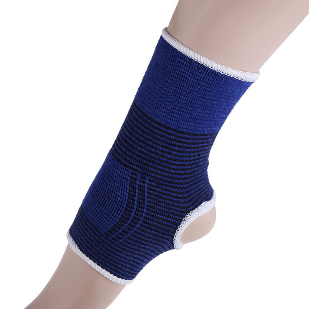 50d7d0609b31 Elastic Ankle Brace Gymnastics 2 X Elastic Ankle Brace Support Band Sports  Gym Protects Therapy Dance