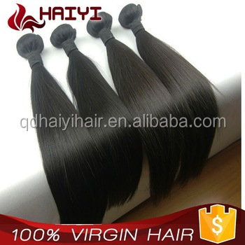 Thick Bottom Factory Price Tangle Free Wholesale 18 Inches Raw European Virgin Hair