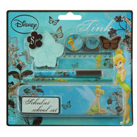 Stationery set 8 pcs pencil tin box (promotion,back to school )