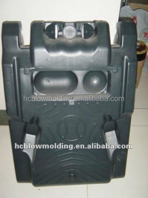 OEM Blow Molding plastic large water base square HDPE Basketball stand base