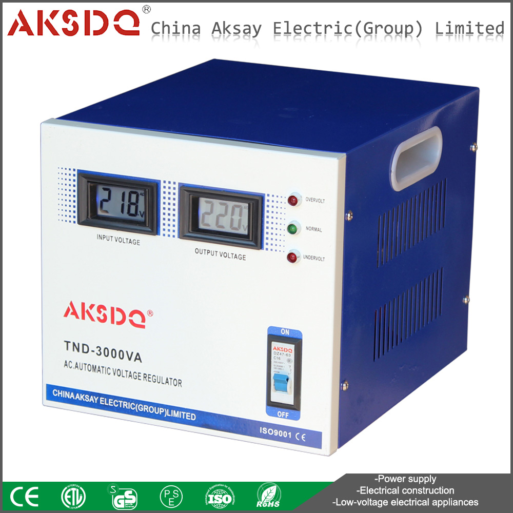 home Appliance Protector 3KVA Voltage stabilizer