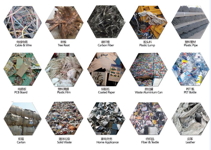 paper core shredder/ corrugated paper -double and single wall paper box shrdder/ cardboard carton shredder/ paper reycling machi