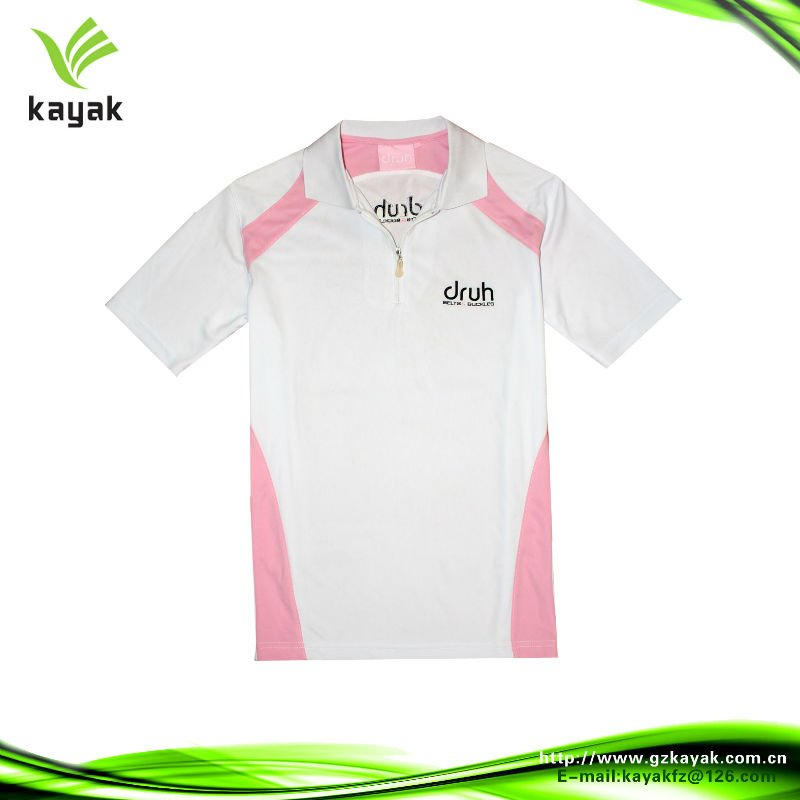 Dos Colores Cremallera Cuello Polo Dry Fit Diseño - Buy Polo Dry Fit ... 1d83a1b0824ee