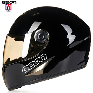 2018 BEON HOT custom racing Helmet motorcycle full face helmet with sunviosr from china for sell