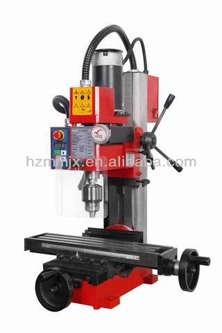 Manual bench drilling and milling machine with CE certification ZX1
