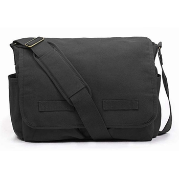 e124b7946f Plain Design Canvas Shoulder Bag Mens School Messenger Bag - Buy ...