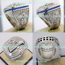 2013 Seattle Seahawks NFL Football Championship Ring Custom Championship Sports Rings