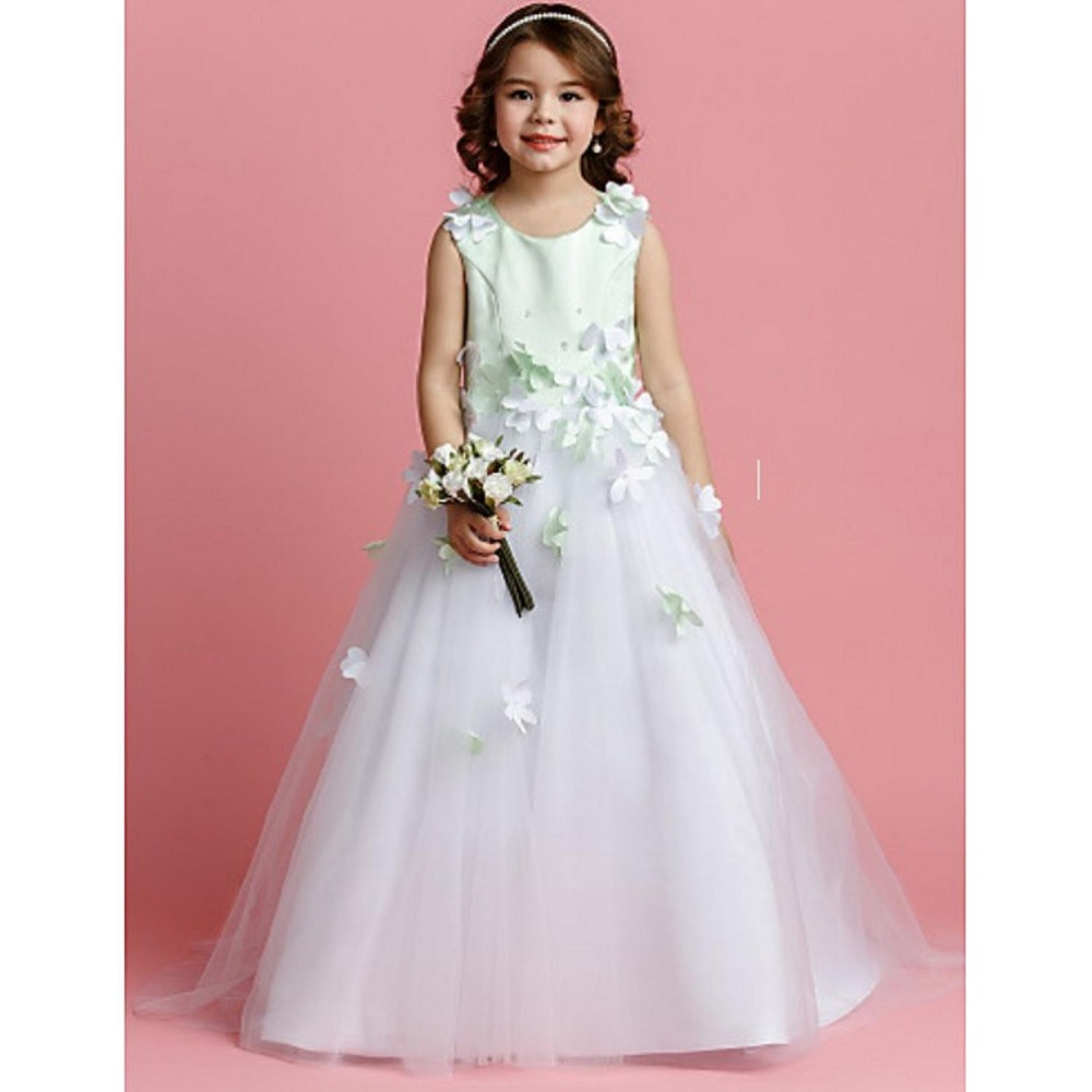 X1082Y wedding dress 2017 children long frock design white princess dresses for kid clothing party wear