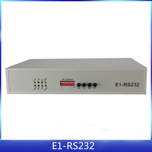 E1 port-RS232 port to ethernet converter support VLAN protocol