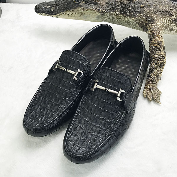 men OEM crocodile casual shoes leather genuine 0v70XgzTqw