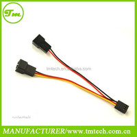 3 Pin Computer PC Fan Power Y Splitter Cable