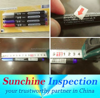 School & Office Supplies Quality Control / Pen and Marker Quality Inspection Service in Shenzhen /Shantou