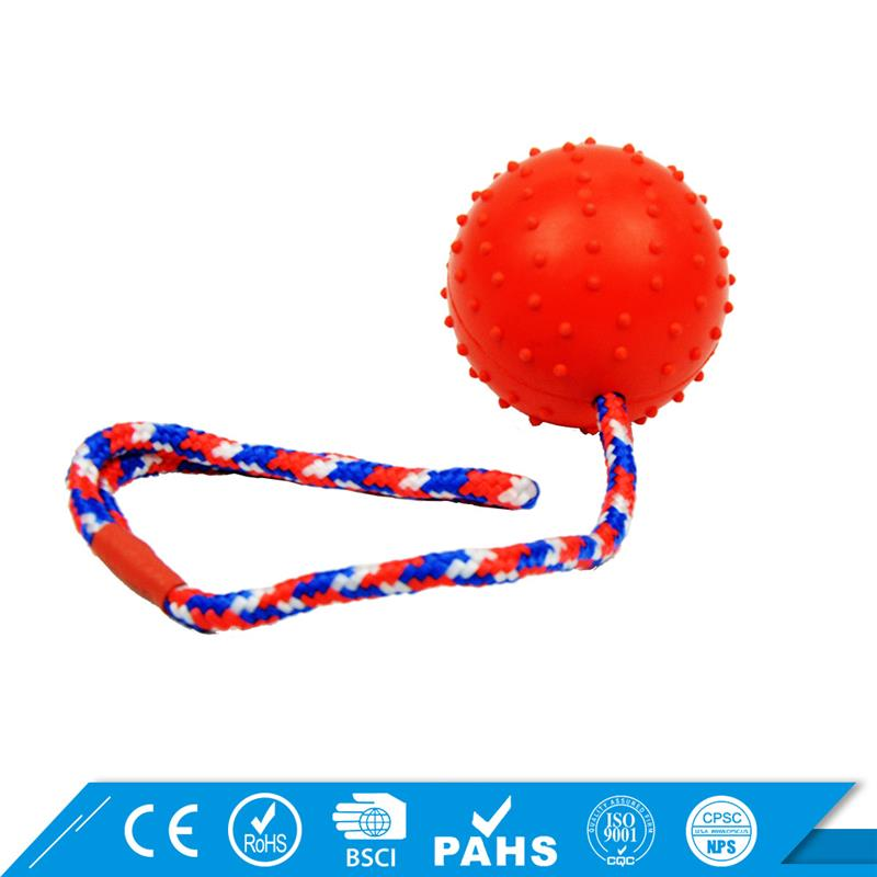 Eco-Friendly Rope balls Training dog ball toy