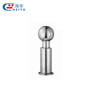 Food grade /hygiene grades Sanitary Stainless Steel welding fixed cleaning ball