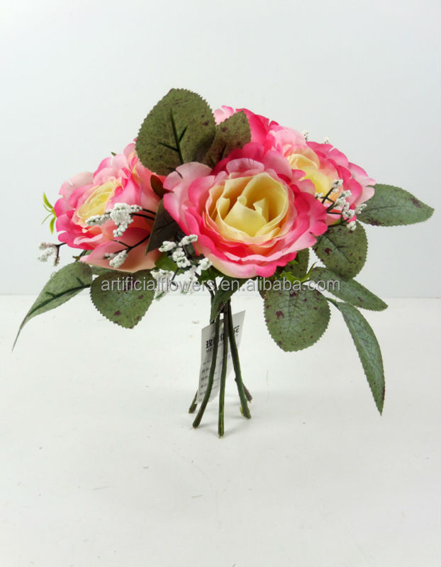 New arrivals 6 heads Lucky rose buds small bunch