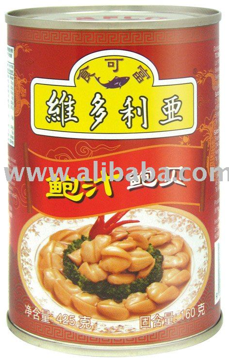 Canned Seafood Pacific Clam-Abalone Sauce