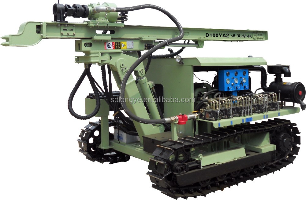 drilling construction drilling and rig machine D100YA2 for blasting drilling