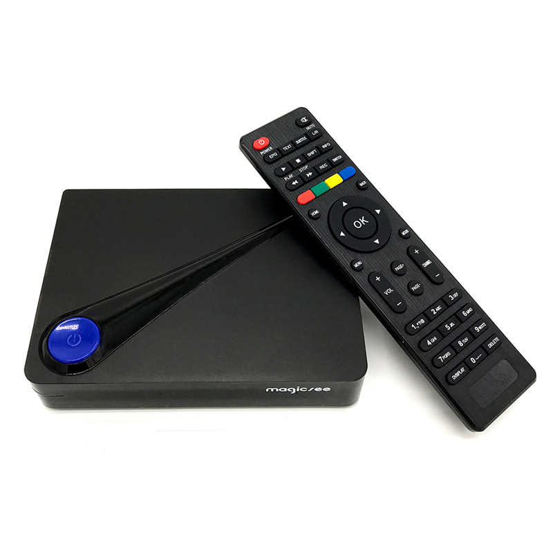 ISDBT device !! magicsee c300 Amlogic S905D android 7.1 tv box dvb  t2 s2 android 2+16GB dvb 4k digital satellite receiver