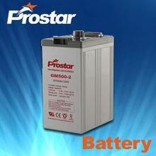 2V 500AH AGM Industrial Stationary Battery
