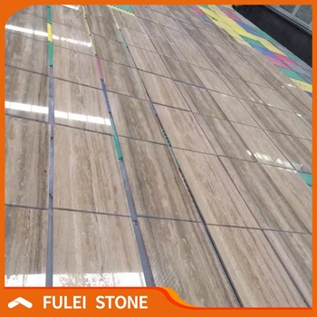 Free Sample Natural Polished Italian Ocean Blue Travertine Tiles And - Blue travertine natural stone tiles