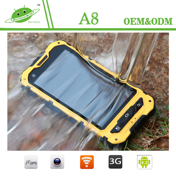 land rover a8 android 4.2 ip68 waterproof rugged phone