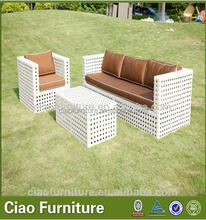 new model sofa sets pictures Modern fashion outdoor garden luxury rattan sofa