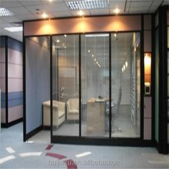 Factory Price Used Living Room Glass Partition Design