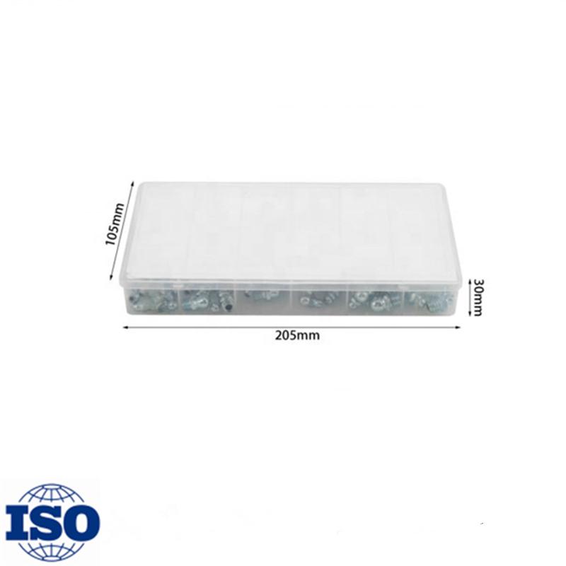 זול מחיר 220 PCS הידראולי שימון גריז אבזרי מבחר Zerk התאמה מטרי/SAE