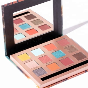 FOCALLURE China New Innovative Product Cosmetics Base Eyeshadow Powders Make Up To Sell Wholesale