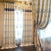 Free sample available curtains with jacquard pattern