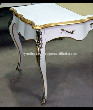 Louis Xv Style White Desk Buy White Desk Small Desk Lady Desk