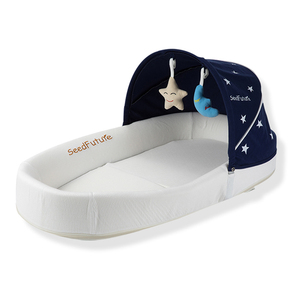 The first years new born baby foldable travel bed / infant crib