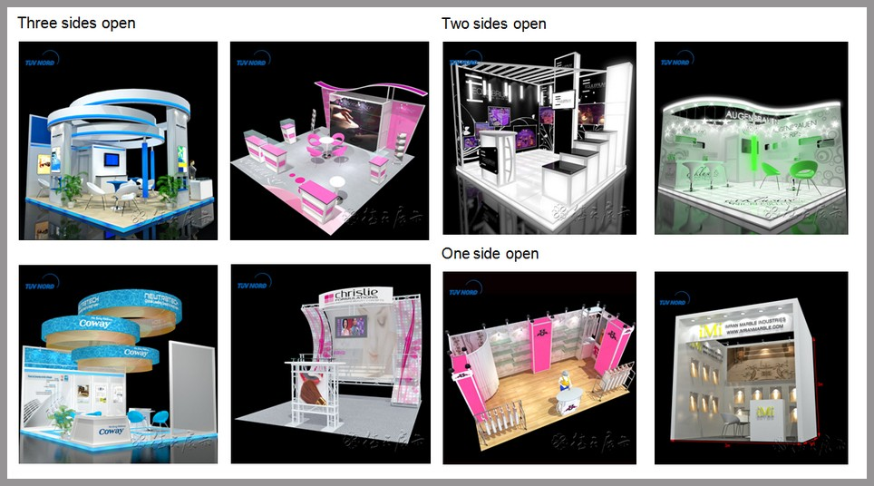 D Exhibition Booth Model : New design d models stand exhibition stall buy
