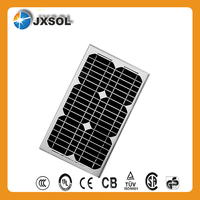 High power efficiency solar cells good 20 watt mono crystalline silicon solar panels