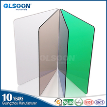 Guangzhou manufacture customized service milky white clear color acrylic sheet