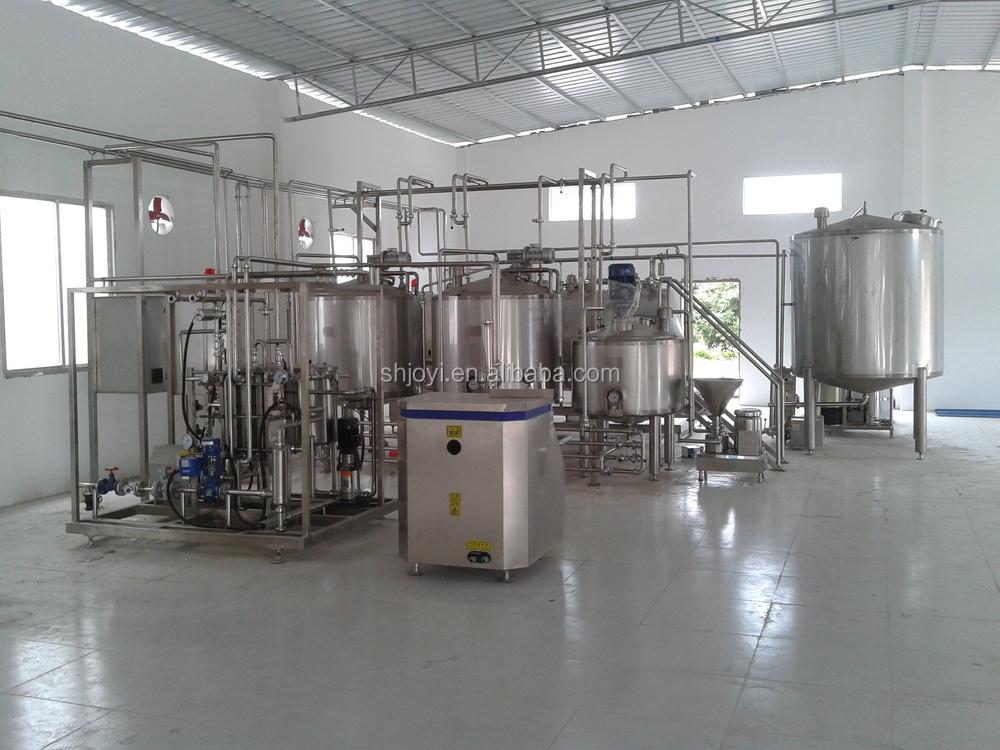 Mini Dairy Processing Plant : Milk production line processing plant