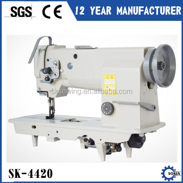 sofa heavy duty lockstitch compound feed industrial sewing machines for leather