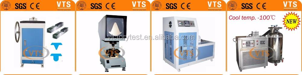 CST-50 ชาร์ปี้ V Notch ผลกระทบโปรเจคเตอร์สำหรับชาร์ปี้ impact test specimen