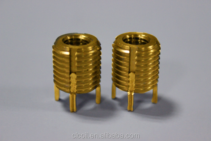 M6*1-1.5d Stainless Steel Ensat Thread Inserts For Wood Screw ...