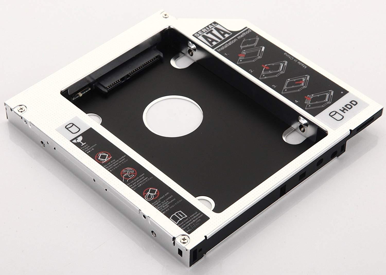 DY-tech 2nd Hard Drive HDD SSD Caddy for HP dv6-1360ep DV6t-6100 dv6-7078 swap GT20L BC-5550H DVD