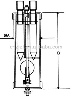 Oil Water Separator For Refrigeration System