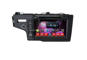 Hot sell!! dvd car audio navigation system,Bluetooth,MIRROR-CAST,AIRPLAY,DVR,Games,Dual Zone,SWC for honda fit 2014