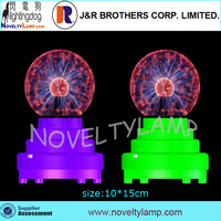 low price battery operated 3.5 inch plasma globe plasma dome plasma ball