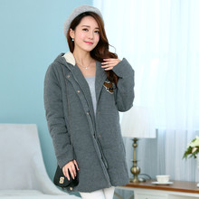ON SALE maternity jacket plus size maternity coat hooded thick with zipper jacket for pregnant women