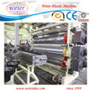 PVC Waterproof Lamination Wide Flooring Leather Plastic Machinery
