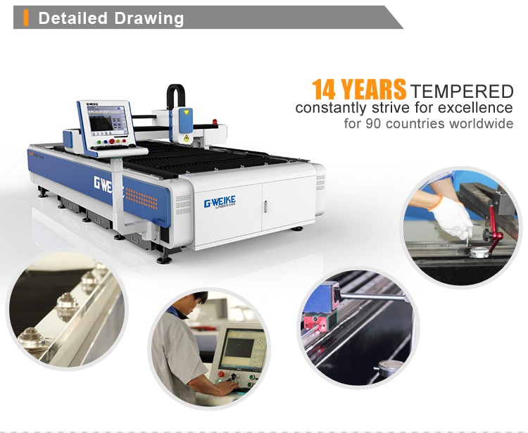 high working efficiency 1612 Dual head laser cutting machine improving work efficency with CE certification