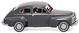 Volvo PV 544 - gray - Model Car, Ready-made - Wiking 1:87 by Wiking