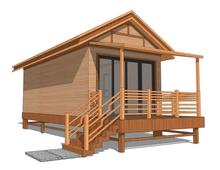Prefab modern style steel structure villa wooden hut;wooden house;log cabin; wood tiny house